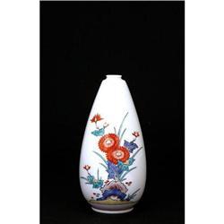 Japanese Imari Studio Kakiemon Bottle Vase #896810