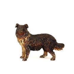 Austrian Vienna Bronze Large Dog Figurine #896815
