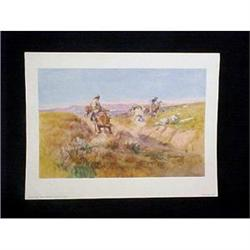 Charles Russell Watercolors Old West Prints #896840