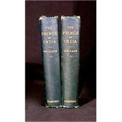 AntiqueBooks Prince of India 2 Vol By Wallace #896843