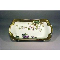 Small Limoges Redon Tray Gold Enamel #896853