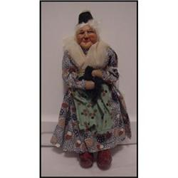 Doll Cloth Ravca Little Old  Woman  Made in #896893