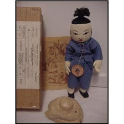 Doll Cloth Chinese Boy Made in Hong Kong  in #896894