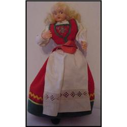 Doll Hilda Ege  Norway Norwegian Woman  #896898