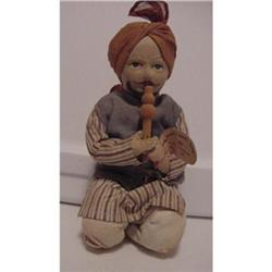 Doll Cloth Snake Charmer from India #896906