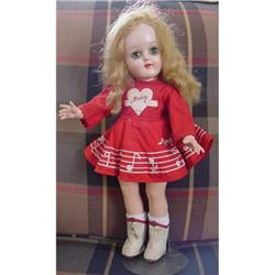 Doll Mary Hartline P-91 Ideal Original 1950s #896910