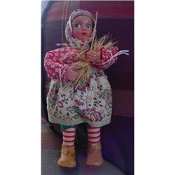 "Doll Portugal 8"" FaFa Sticker Ceifeira 1960s #896911"