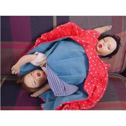 Doll Topsy Turvy International Dolls Cloth #896912