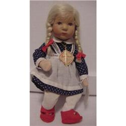 """Doll Kathe Kruse 9""""  Made in Germany #896913"""