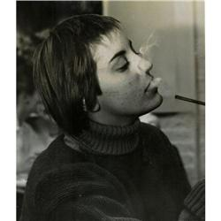 Original WEEGEE Smoker Babe photograph   USA #896915