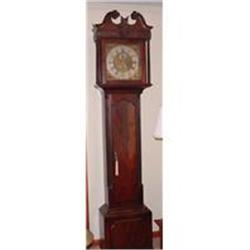 John Reilly Mahogany Chippendale Tall Case #896917