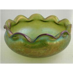 Loetz Oil Spot Bowl #896919