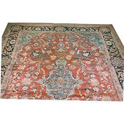 """Persian Kashan Rug---13'-6""""x9'-0"""" #896935"""