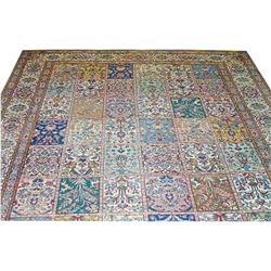 """Persian Tabriz Rug---13'-7""""x10'-4"""" #896941"""