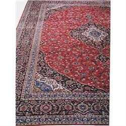 """Persian Kashan Rug---17'-3""""x13'-3"""" #896945"""
