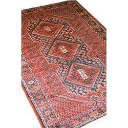 "Persian Malayer Rug---9'-4""x6'-6"" #896948"