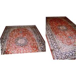 "Persian Isfahan Rug---16'-9""x9'-7"" #896966"