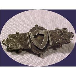 Victorian Keepsake Hair Frame Bar Pin #896979