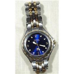 Fossil Blue Watch WR  Sapphire blue dial #896980