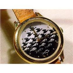 M.C. Escher Watch Cordon Art , Baarn Holland  #896982