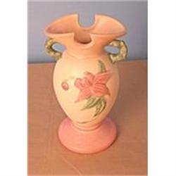 "Hull Vase in ""Woodland"" Pattern #896987"