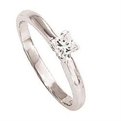 PRINCESS CUT diamond engagement ring white 1.5 #896992