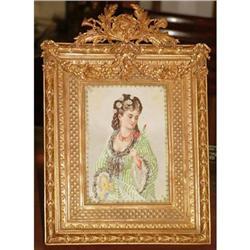 Quality  French Bronze  photo frame  #897000