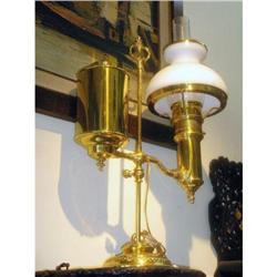 Original  Kerosene table lamp electrified #897004