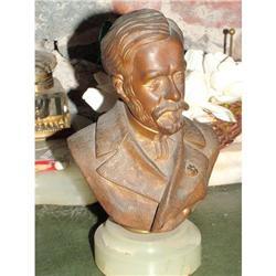 Pasteur  Bronze Bust  #897007