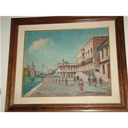 Italian oil of Venice  by G. Patrizio  #897013