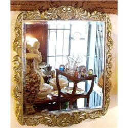 Big French Bronze frame Mirror  #897014