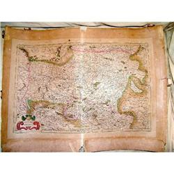 16th  Austria map by Mercator by Hondius #897018