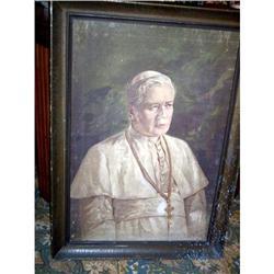 Pope Pio X  St. Piux X  oil on canvas portrait #897023