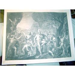 Leonidas at Termopilas by J.Louis David  #897026