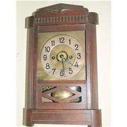 Rare German  Kienzle wall clock with alarm  #897030