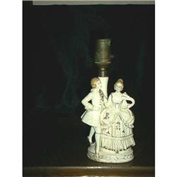 Lamp Victorian Man And Woman #897031