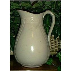 Large White Pitcher #897035