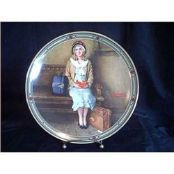 Edwin M. Knowles Collectible Plate 1985 #897038