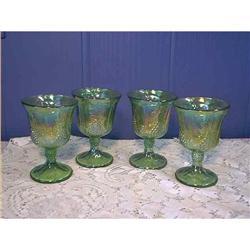 Carnival Glass Goblets  Indiana Glass #897051