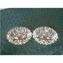 Glass Candle Holder by Fostoria Set Of 2 #897066