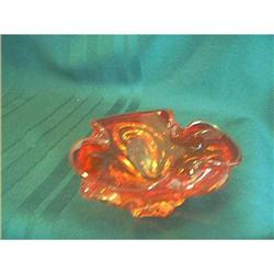 End of Day Glass Bowl Hand-Blown #897067