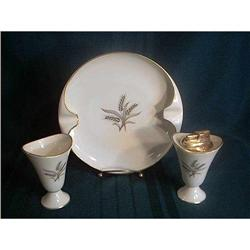 Ashtray Cigarette Lighter and Box by Lenox #897071