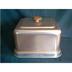 Cake Saver or Keeper Copper And Aluminum #897078