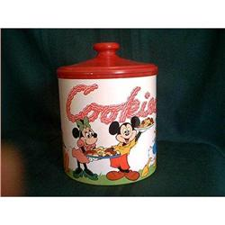 Tin Cheinco Mickey Mouse Cookie Canister  #897080