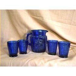 Cobalt Blue Beverage Set #897082