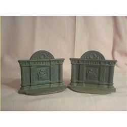 Cast Iron Book Ends #897084