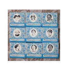 Matchbooks Women of Distinction Set of Nine #897093