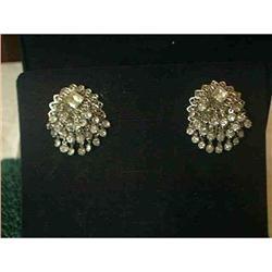 Gorgeous Clip Rhinestone Earrings #897115