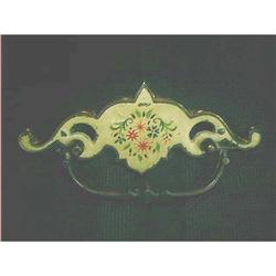 Metal Drawer Pulls Floral Design 2 #897117