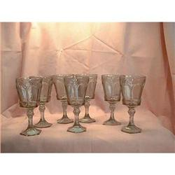 Virginia Water Glasses by Fostoria Smoke 7 #897119